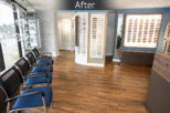 Davies and Lowry Opticians after commercial Interior design and refurbishment by Mewscraft
