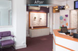 R.N. Roberts Opticians retail commercial Interior design and refurbishment by Mewscraft