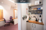 R.N. Roberts Opticians repairs area commercial Interior design and refurbishment by Mewscraft
