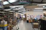 Isaac Lord hardware retail refurbishment before photo