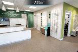 Gwynn's Opticians Interior design and refurbishment by Mewscraft 5