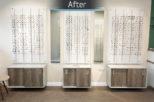 Gwynn's Opticians retail Interior design and refurbishment by Mewscraft