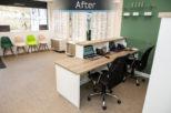 Gwynn's Opticians retail Interior design and refurbishment by Mewscraft 3