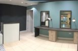 The Salon Stop commercial interior design and refurbishment by Mewscraft in Cheltenham