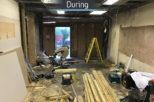 Gwynn's Opticians during the interior refurbishment by Mewscraft