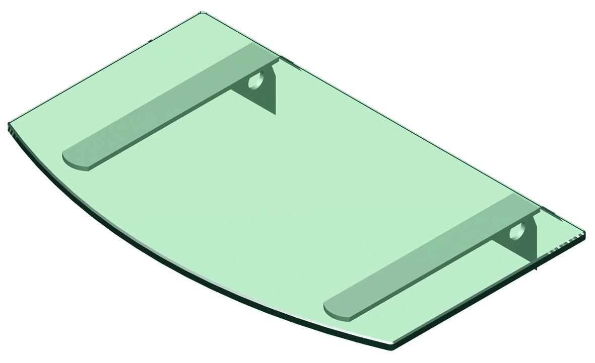 GLASS SHELF ROUND-2